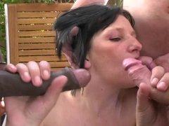 Hot milf and her younger lover 530