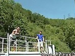 Naked gay man outdoor first time Anal Sex