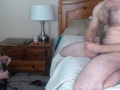 Hot Busty Blonde Sucks Big Hard Cock