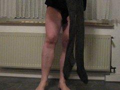 2 Strumpfhosen und 2 Leggings