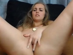Teen babe small tits boobs tight shaved pussy fingering