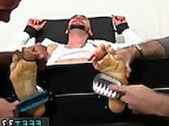 Toes male fisting gay xxx KC Gets Tied Up &