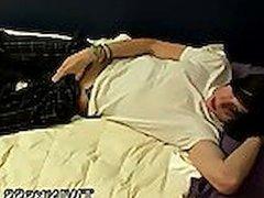 Gay close up sleeping cum Shane & Brendan -