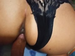 Doggy style milf many times with creampie