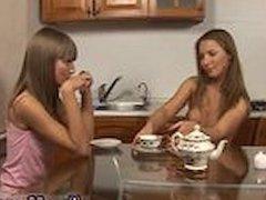 Lesbian sorority haze her Horny lesbian