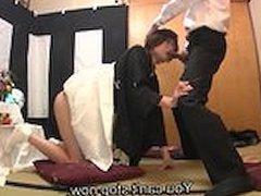 Subtitles Japanese funeral blowjob with enema