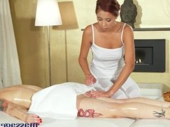 Massage Rooms Lesbian sex for big tits Asian babe