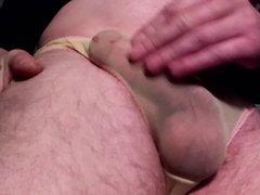Getting hard and cumming