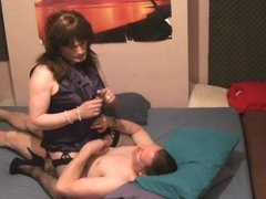 Maria Satin - Poppers in Satin part 1