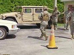 Spy military guys jerking off gay xxx