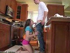 Pretty teen rachel james The Plumber gets