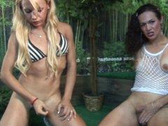 Nikki Montero and Blonde Mariana!