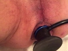 Inflatable anal buttplug oh so good