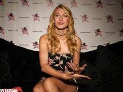 DP Star 3 - Tall Stunning Blonde Alexa Grace Deep Throat Blowjob