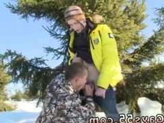 Public nudity gay first time Snow Bunnies