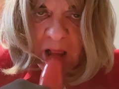 julie sucks my cock and begs for more