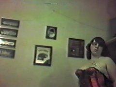 My slut wife in her red basque