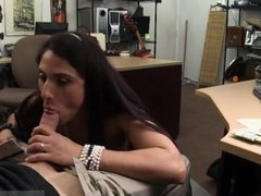 Teen lesbians sharing double dildo and