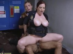 Red head milf interracial dp and ggg milf