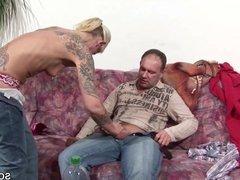German Milf Seduce to Fuck and Facial