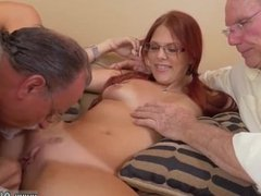 Old man young girl creampie Frankie And The