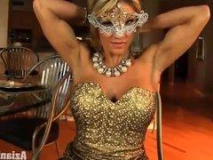 Abby Marie (Fitness models shows her Hardbody)