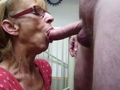 Mature Wife Sucking Dick