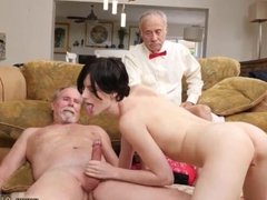 Taboo handjobs mom and step-son xxx Frankie