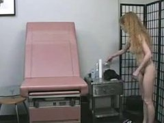 86cams - Beautiful Blonde Hairy MILF Amateur Gets Doctor's Exam