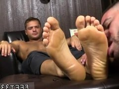 Boy feet and ass gay first time Tyrell's