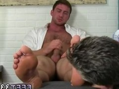 Old gay cum swap Connor Gets Off Twice