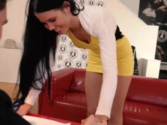Exposed Casting - Russian gal Lovenia Lux in hot seduction game at casting