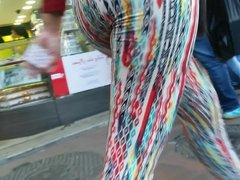 Leggins Multicolores Veterana MegaCulazo Grande Ricura
