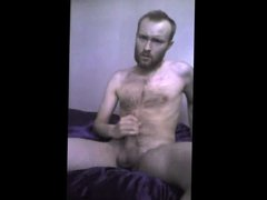 Hairy Polish Bearded Dude - Big Cock Cumshot