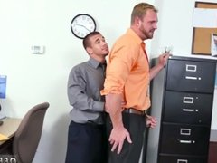 Short film fuck gay sex First day at work