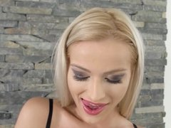 Her Limit - Brutal anal inspection for blondie Cherry Kiss