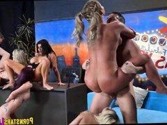Big Cock Pornstar Orgy