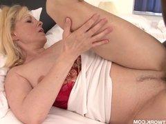 Granny caught secret interracial sex tape she gets fucked