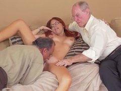 Alanah rae old man first time Frankie And