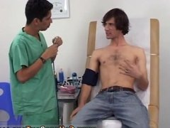 Teen boy physical exam testicle glove gay