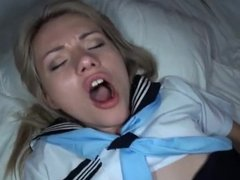 Nothing better than fucking and coming inside a school girl