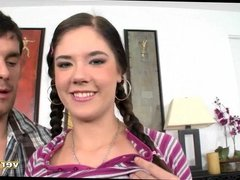 Ready To Bang Pigtails Teen