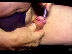 transvestite ladyboy sounding urethral pantie cock nylon