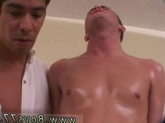 Gay twinks shoot cum far and marine fucking