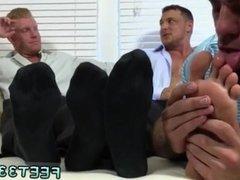 Hairy daddy in briefs having gay sex Ricky