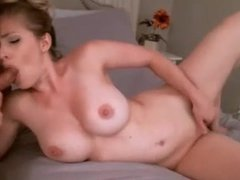 Milf Blowjob And Cumshot On Webcam