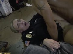 Unfaithful milf and blonde big dick anal