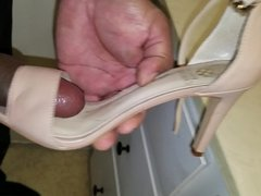 Fucking and cuming on vince camuto shoes