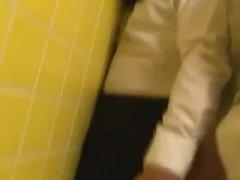 shemale in restroom 164-4