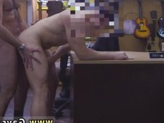Mature men caught anal gay sex and small